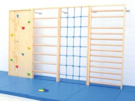 Sportmat/Gymmat/Speelmat Blauw (200 x 85 x 8 cm)
