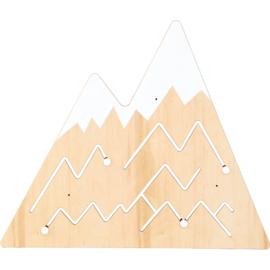 Wandspel Muurspel Bergtoppen