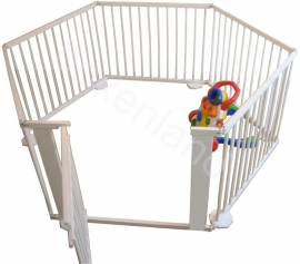 Grondbox / Playpen 9,15 meter GIGANT WIT (72 cm)