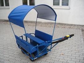 Bolderwagen/Bolderkar Kinderopvang Blauw