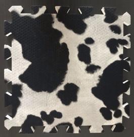 Speelmat Koe / 9 tegels (30 x 30 x 1,2 cm)