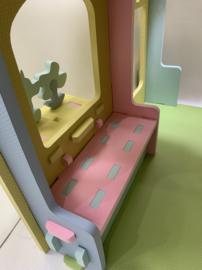 Speelhuisje van foam