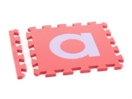 Speelmat alfabet schrijfletters / 26 tegels (30 x 30 x 1,2 cm)