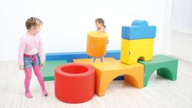Foam Blokken Set van 11 zachte speelelementen