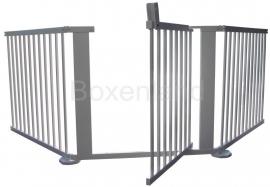Veiligheidshek/kinderhekje 274,5 cm WIT (79 cm)