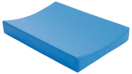 Aankleedkussen (groen of blauw) 63 x 73 x 10 cm