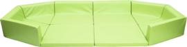 Kruiphoek baby / zachte playpen (groen of oranje) / soft grondbox
