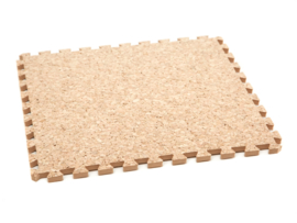 Vloertegels kurk (30 x 30 of 60 x 60 x 0,9 cm)