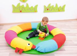 Speelkleed/speeltapijt Rups (140 cm)