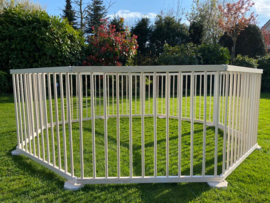 All weather buitenbox / playpen 9,15 meter GIGANT (72 cm) leverbaar 21 mei
