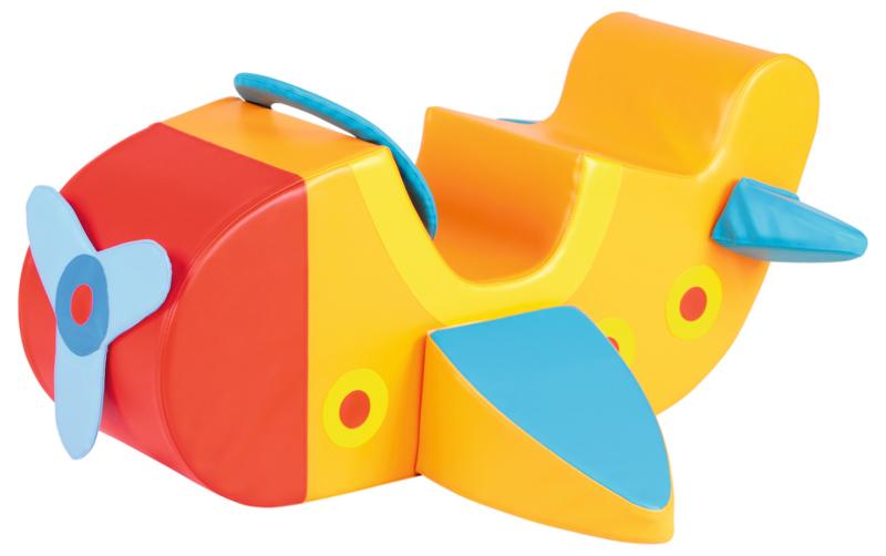 Foam blok / Speelkussen Vliegtuig