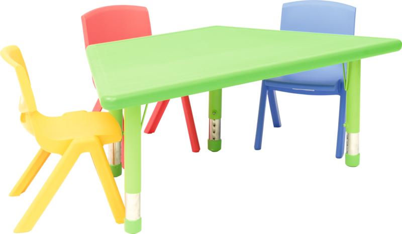 4 Kunststof Stoelen.Kinderopvang Stoelen Kunststof In 4 Maten En 5 Kleuren