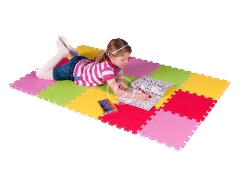 """Speelmat 6,5 m² """"Mix"""" / 70 tegels (30 x 30 x 1,2 cm)"""