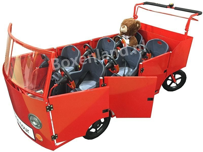 Bolderwagen/Bolderkar Kinderopvang Bus