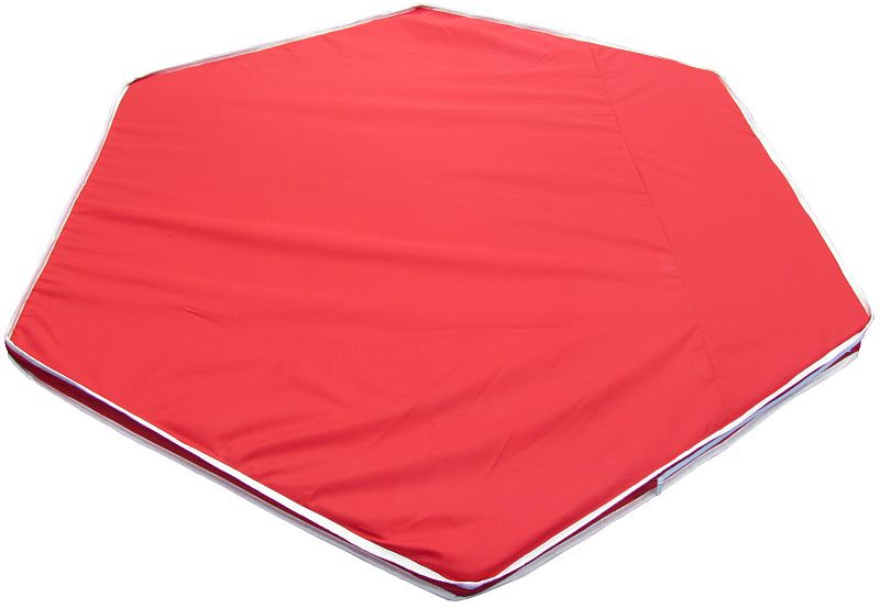 Binnen-/buitenspeelkleed (voor playpens 5,49  m / 6 x 90 cm) rood/groen/antraciet