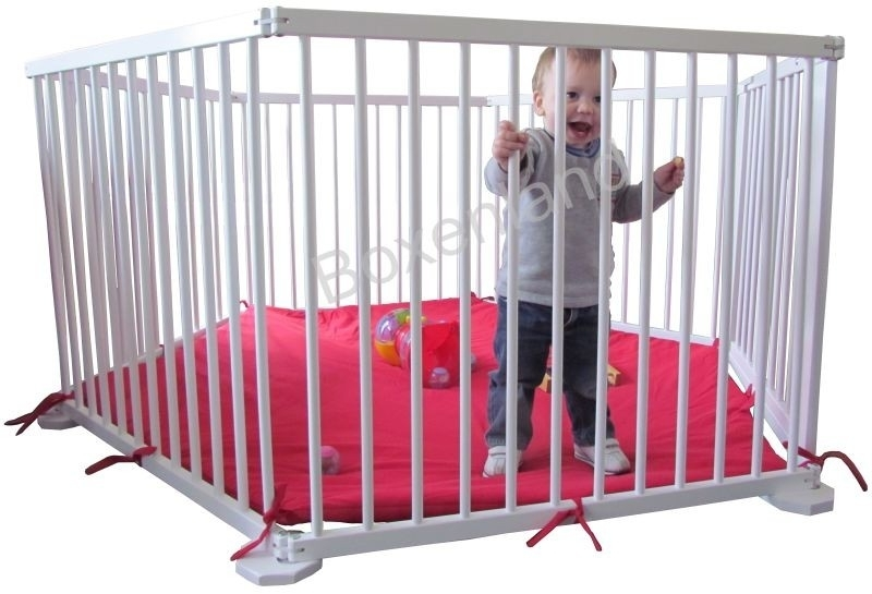 Grondbox / Playpen 5,49 meter WIT (79 cm)