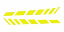 33924 CARDESIGN Sticker schaduw neon geel
