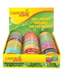 California Scents balie display 18 Stuks