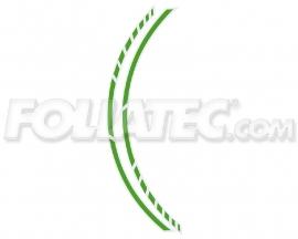34444 Groen Motor velgen Striping