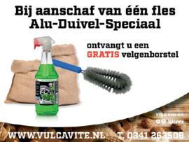 Alu-Duivel-Speciaal + Gratis velgenborstel