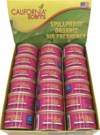 California Scents® Coronado Cherry 18 stuks excl. deksel.