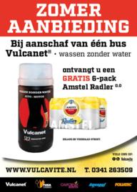 1 x Vulcanet + gratis SIX PACK Radler 0.0