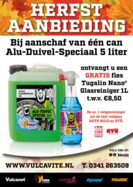 1 x 5 Liter Alu-Duivel-Speciaal® + gratis fles Tugalin glasreiniger