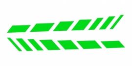 33925 CARDESIGN Sticker schaduw neon groen