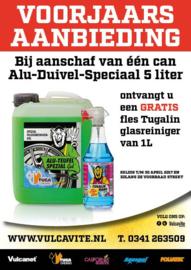 5 Liter ALU DUIVEL SPECIAAL® + 1 L glasreiniger
