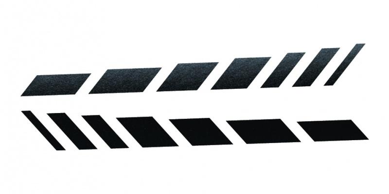 33923 CARDESIGN Sticker schaduw zwart mat