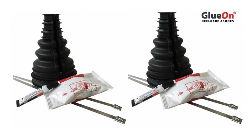 2 stuks variabele ashoes 90-100 mm