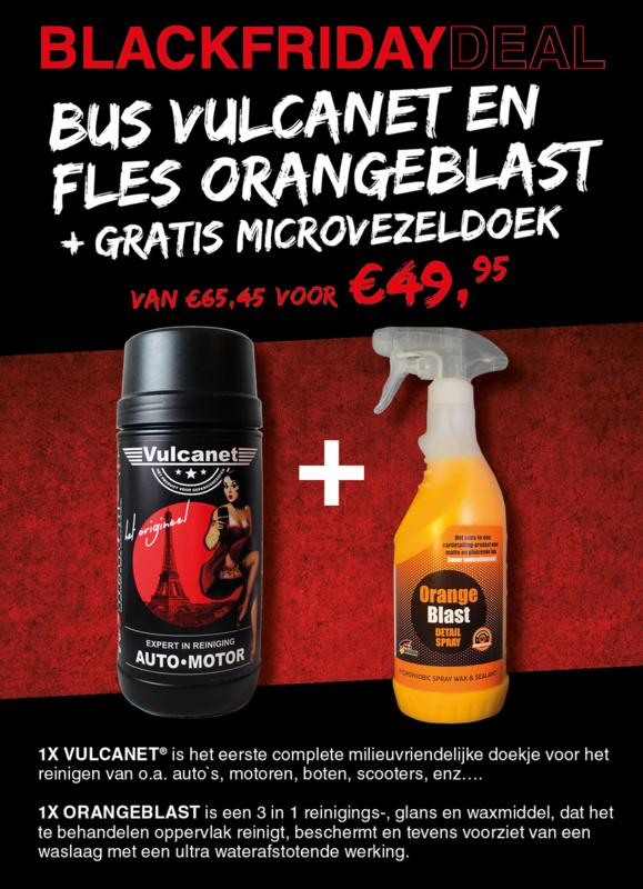 Black Friday Vulcanet + OrangeBlast