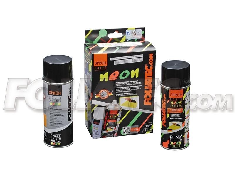 2094 Spray folie neon geel