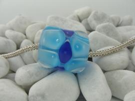 XL grootgatkraal, licht- en kobaltblauw