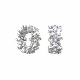 Zilveren spacerkraal SP0560