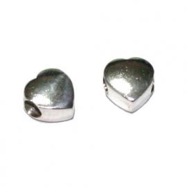 Zilveren grootgatkraal, hartvormig  BD0680
