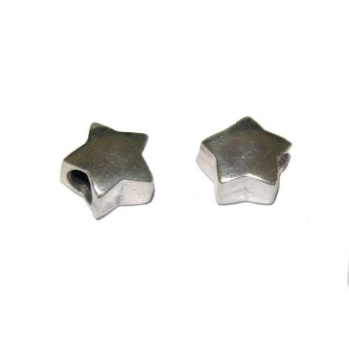 Stervormige zilveren grootgatkraal BD0690