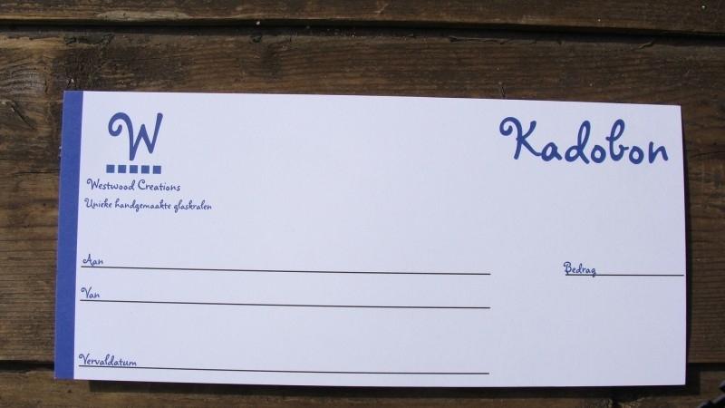 Kadobon vanaf € 5,00