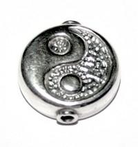 Losse tussenkraal (voor pin) Yin Yang