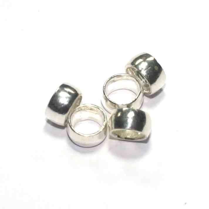 Gladde zilveren tussenkraal SP0084