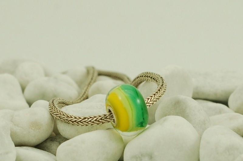 Grootgatkraal, groen met geel