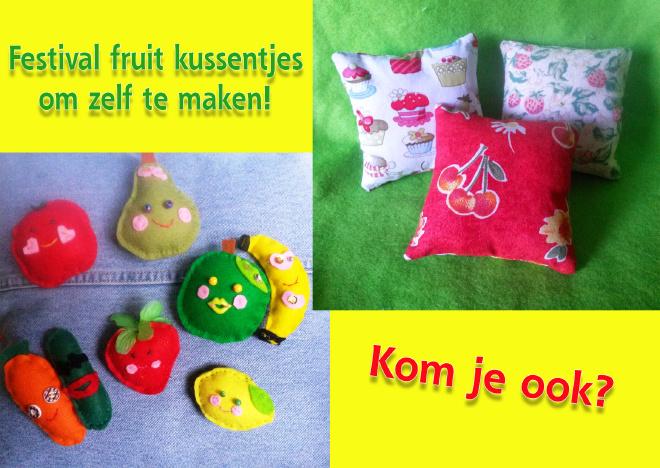 Fruitkussentje maken