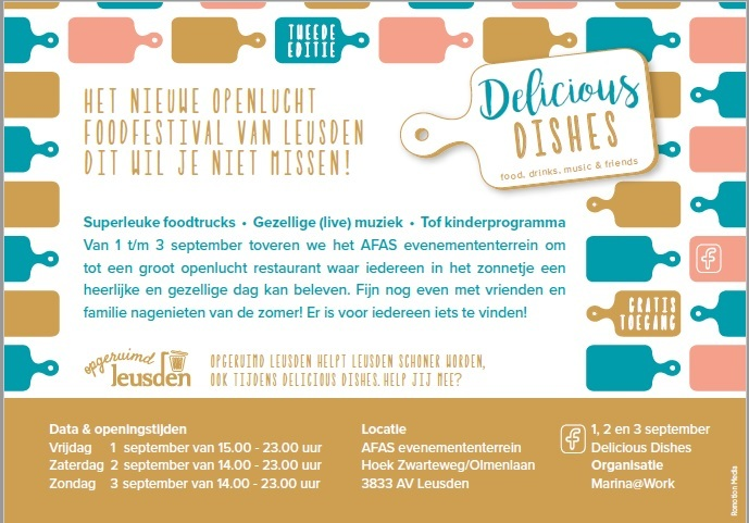 Kinderprogramma Delicious Dishes