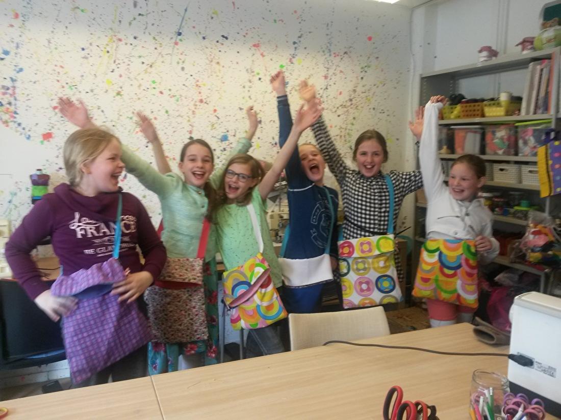 naaiworkshop kinderfeestje