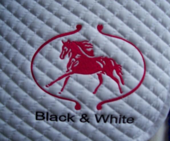 Dekje met logo