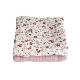Spuugdoekje Flower/ Roze
