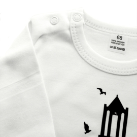 T-shirt Domtoren wit