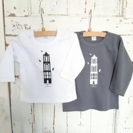 T-shirt Domtoren Grijs