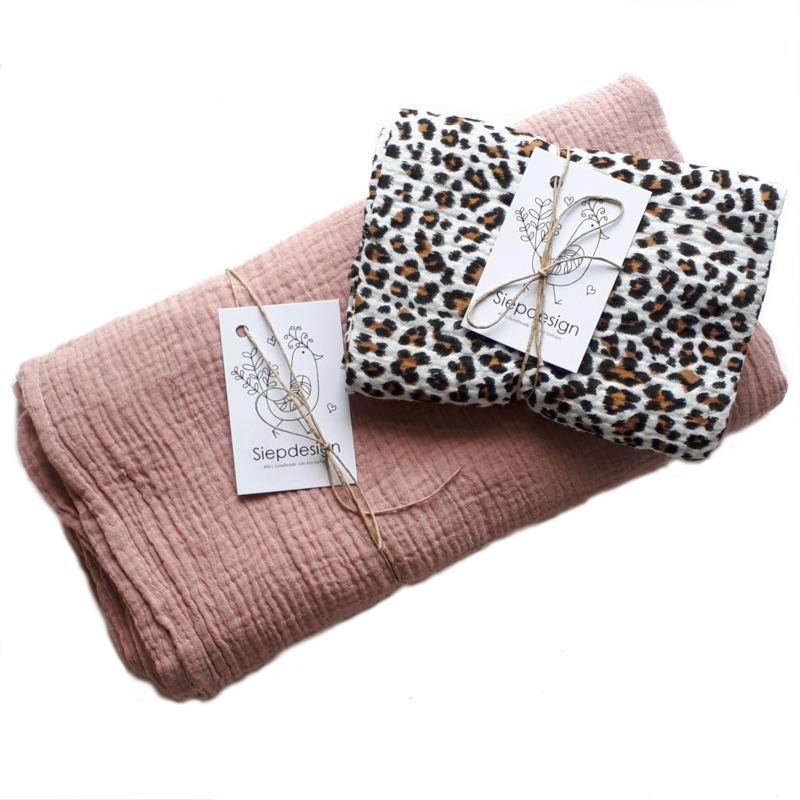 Swaddle Cadeauset Luipaard