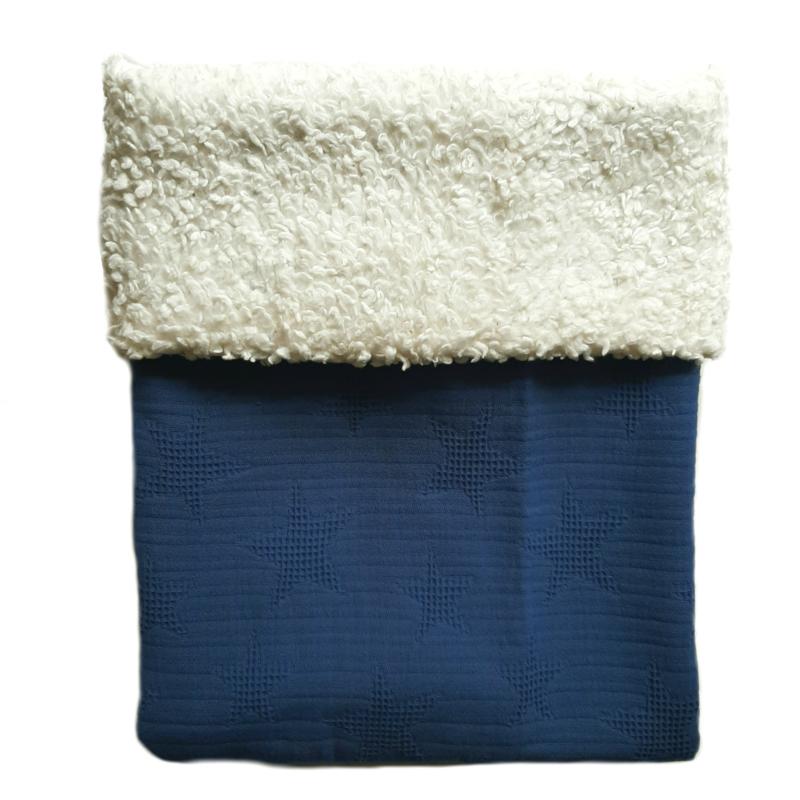 Teddy Jeansblauw